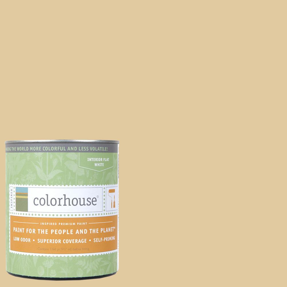1 qt. Grain .04 Flat Interior Paint