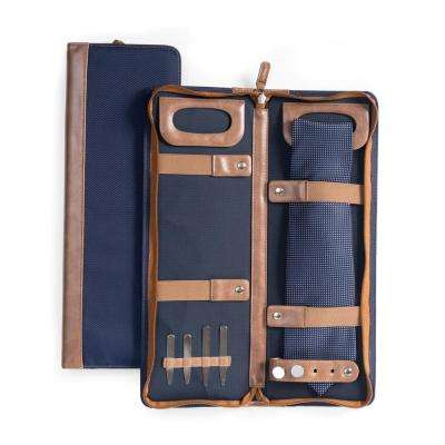 Nylon Tie Case in Blue