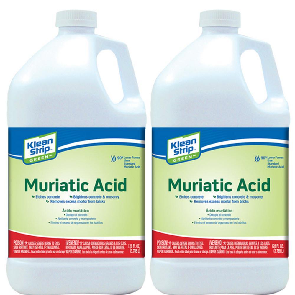 1 Gal. Green Muriatic Acid (2-Pack)