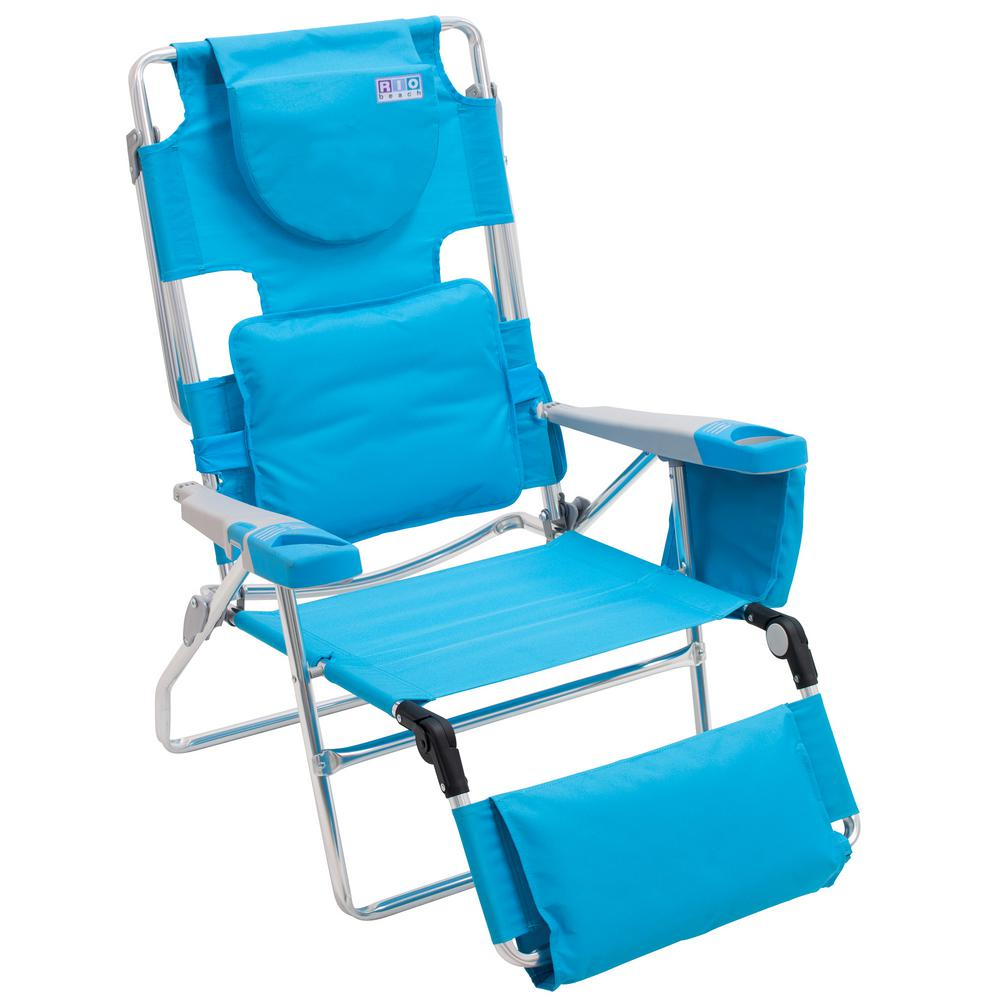 Rio Read-Through Aluminum Patio Beach Lawn Chair-SC570-72