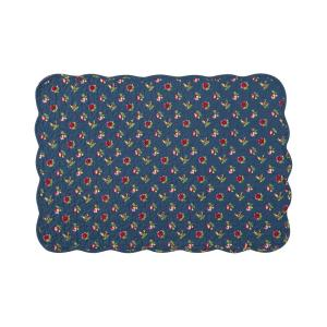 C & F Home Blue Olivia Quilted Placemat (Set of 6) by C & F Home