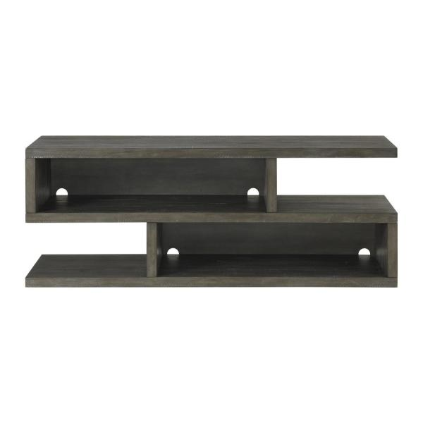 Lexington 70 in. Gray TV Stand for TVs up to 75 in.