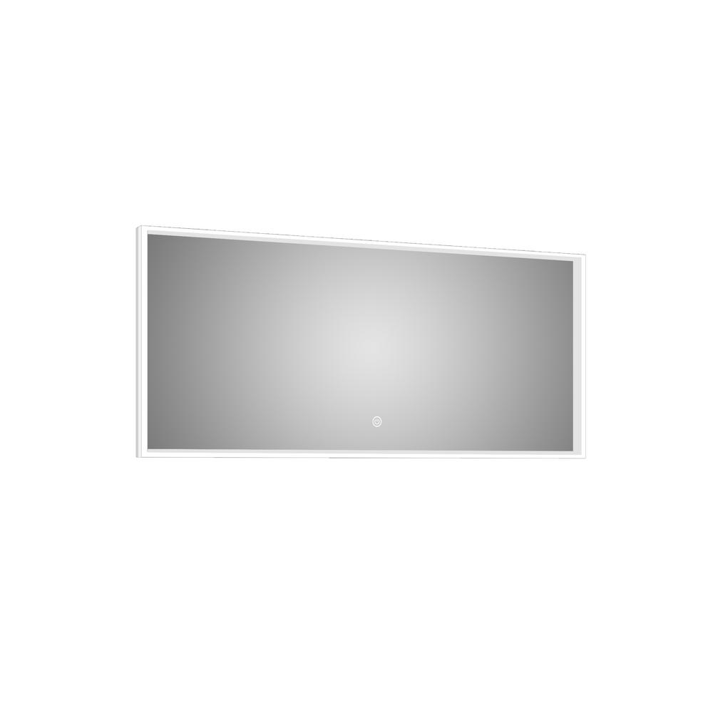 Azure 47 in. W x 24 in. H Lighted Impressions Frameless