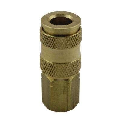 3/8 in. V Style High Flow Coupler