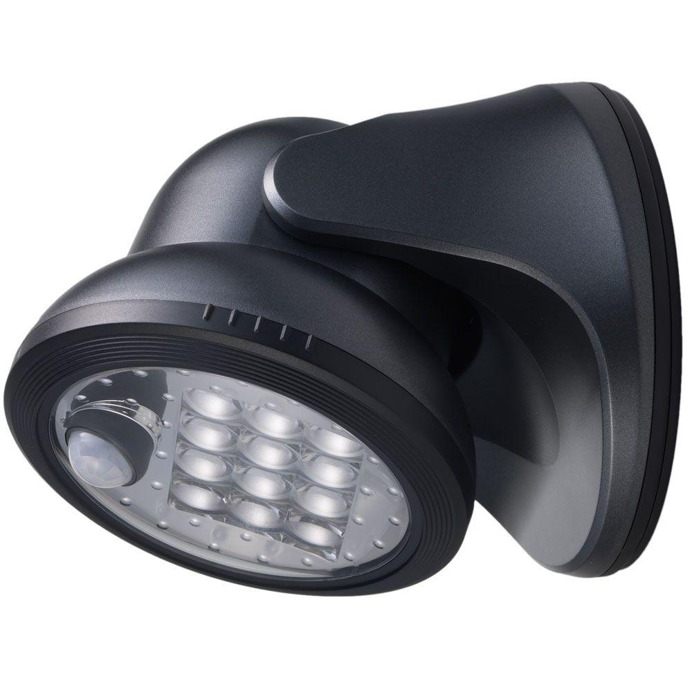 Fulcrum Inc Charcoal 12-LED Wireless Motion-Activated Wea...