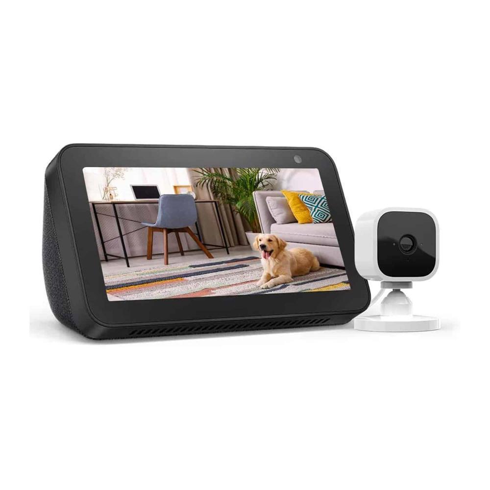Amazon Echo Show 5 + Blink Mini 1 Camera in Charcoal