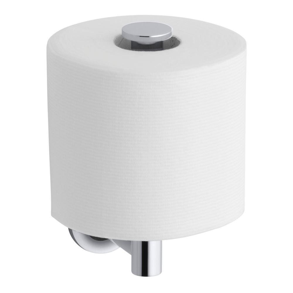 Kohler Purist Wall Mount Single Post Toilet Paper Holder In Polished Chrome