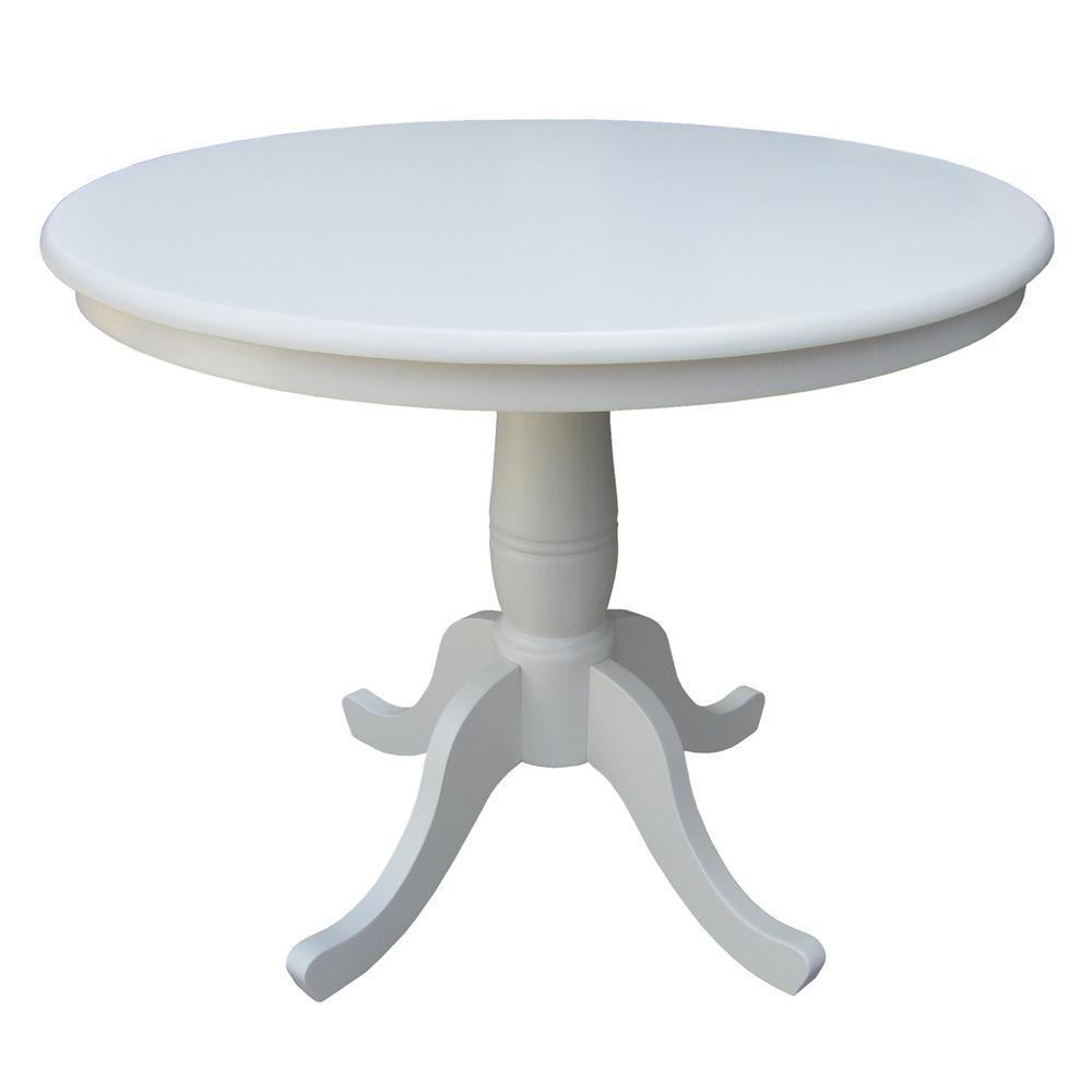 International Concepts Linen Skirted Pub/Bar Table, Linen...