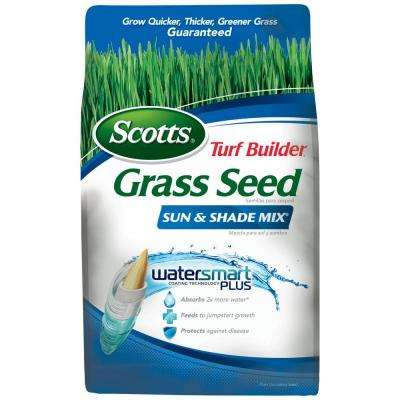 Turf Builder Grass Seed Sun and Shade Mix 7 lb.