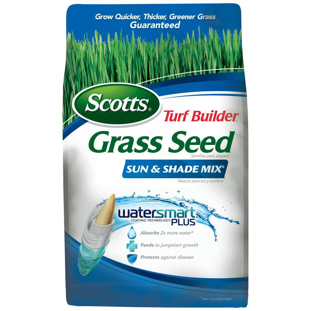 Scotts Turf Builder Grass Seed Sun and Shade Mix 3 lb.