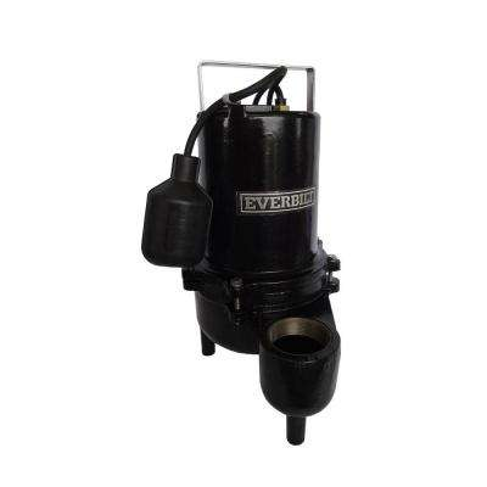 0.6 HP Heavy Duty Cast Iron Sewage Pump