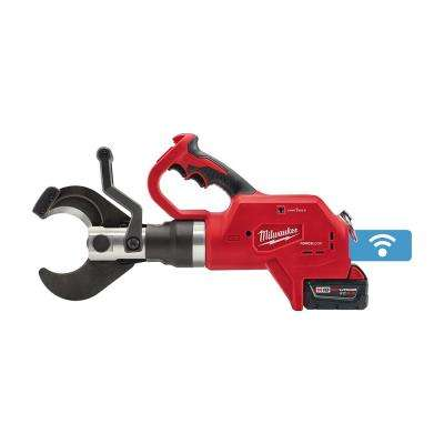 M18 18-Volt Lithium-Ion Cordless FORCE LOGIC 3 in. Underground Cable Cutter W/ (1) 5.0Ah Battery, Charger, Tool Bag