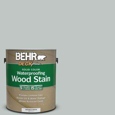 1 gal. #SC-365 Cape Cod Gray Solid Color Waterproofing Exterior Wood Stain