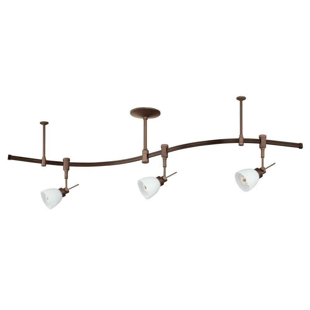 Filament Design Cassiopeia 3-Light Oil-Rubbed Bronze Track Lighting Kit
