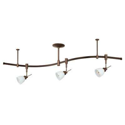Cassiopeia 3-Light Oil-Rubbed Bronze Track Lighting Kit