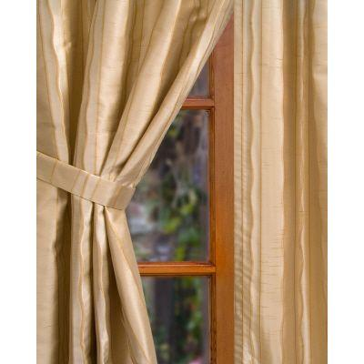 Home Decorators Collection Semi-Opaque Wheat Rockafeller Rod Pocket Panel- in. W x 84 in. L
