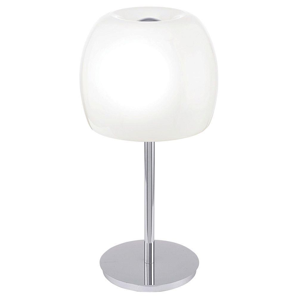 Eglo Dario 20 In Chrome Table Lamp