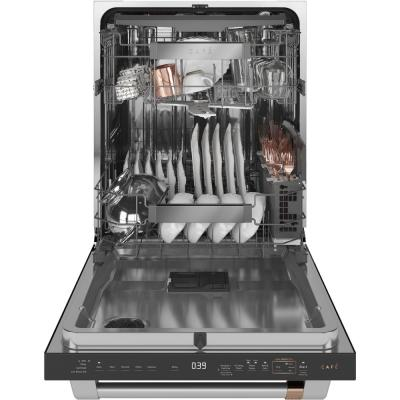 24 in. Fingerprint Resistant Matte Black Top Control Smart Built-In Tall Tub Dishwasher with 3rd Rack, Ultra Quiet