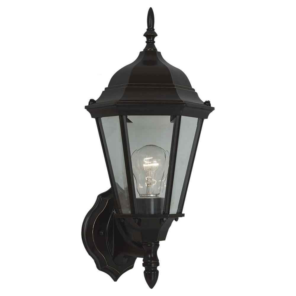Bakersville 1-Light Heirloom Bronze Outdoor Wall Fixture