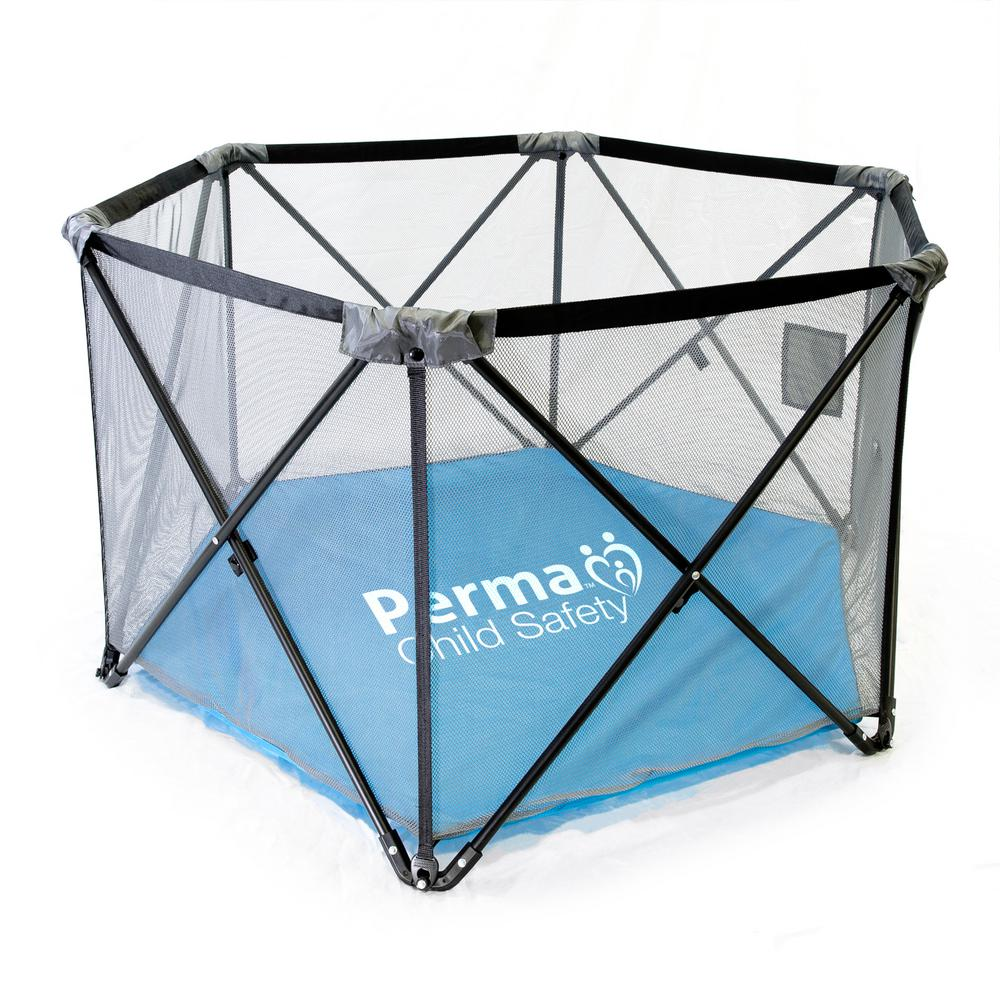Perma Products Usa 27 in. H Pop-Up Portable Fabric Plaype...