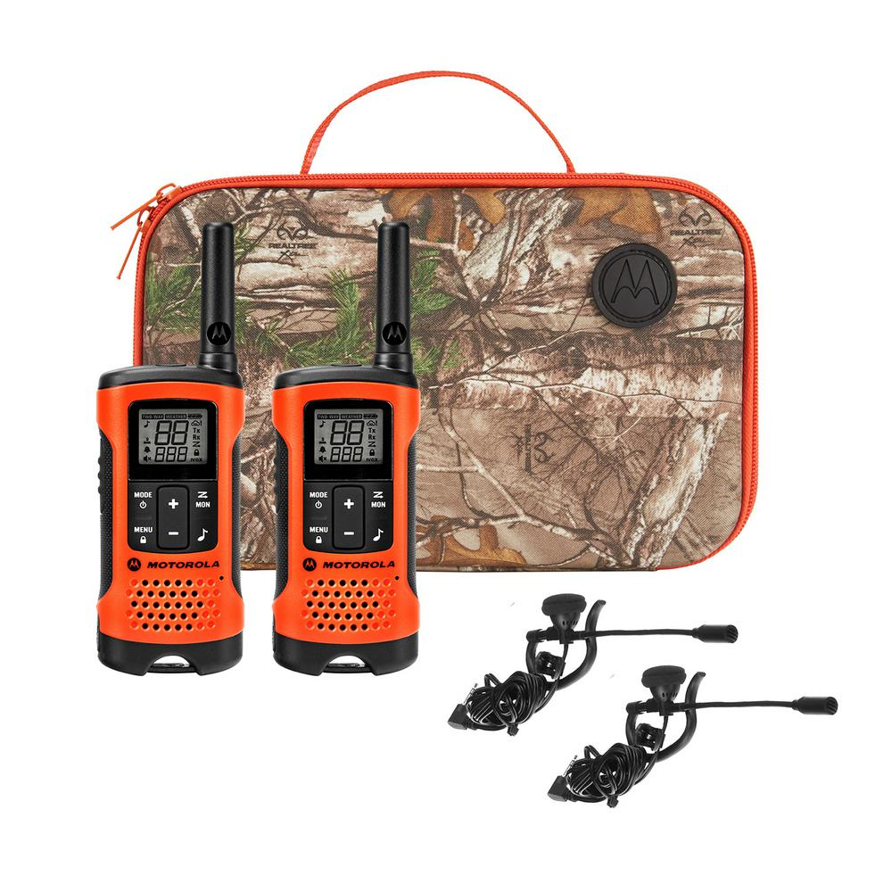 Talkabout Rechargeable 2-Way Radios Sportsman Edition