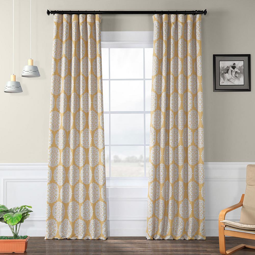 Black Room Darkening Curtains.Exclusive Fabrics Furnishings Meridian Gold Blackout Room Darkening Curtain 50 In W X 96 In L