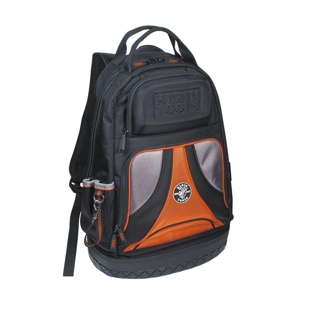 20 in. Tradesman Pro Organizer Black Tool Backpack
