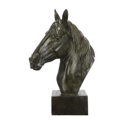 Base Bronze Equine Sculpture