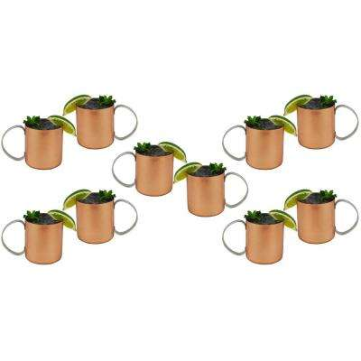 Moscow Mules 12 oz. Copper Mug (Set of 10)