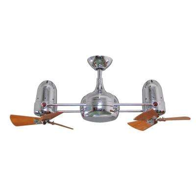 Westergate 38 in. 6-Blade Polished Chrome Ceiling Fan