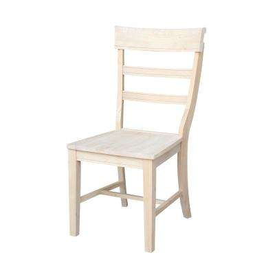 Hammerty Unfinished Wood Dining Chair (Set of 2)