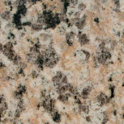 3 in. x 3 in. Granite Countertop Sample in Crema Perla