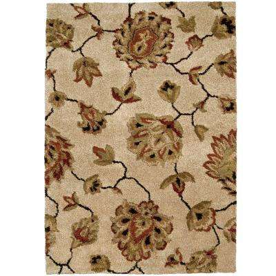 Vintage Bisque 7 ft. 10 in. x 10 ft. 10 in. Area Rug