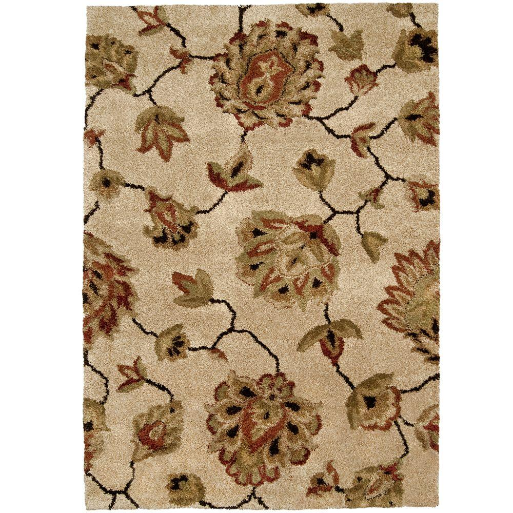 Orian Rugs Como Bisque 7 Ft X 10 Ft Area Rug 238266