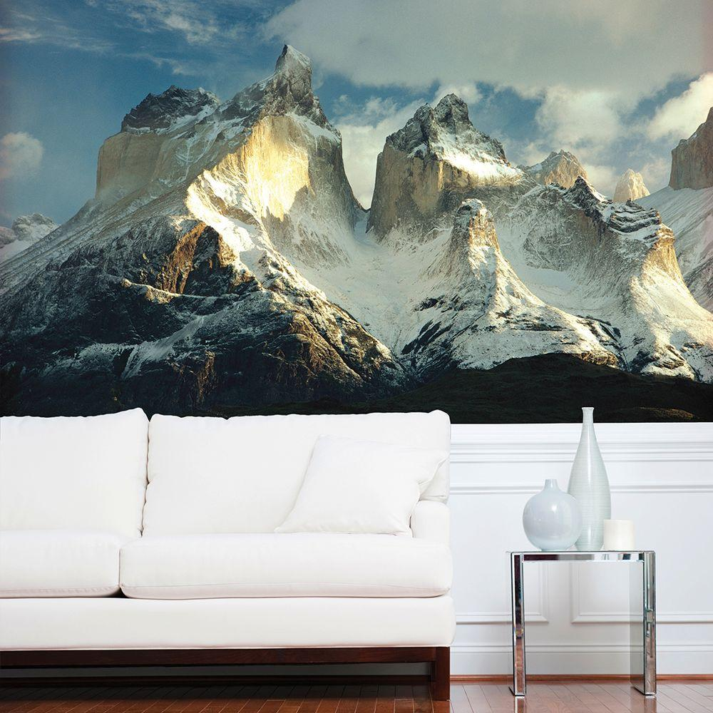 National Geographic 72 in W x 48 in H Mountain Wall Mural NG1311