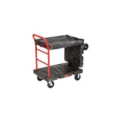 Rubbermaid Commercial Products 2000 lb. Black Convertible Platform Truck by Rubbermaid Commercial Products