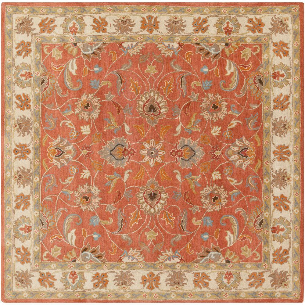 Artistic Weavers John Rust 8 Ft X Square Area Rug
