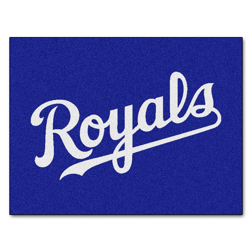 110468bb5 FANMATS Kansas City Royals 3 ft. x 4 ft. All-Star Rug-6385 - The ...