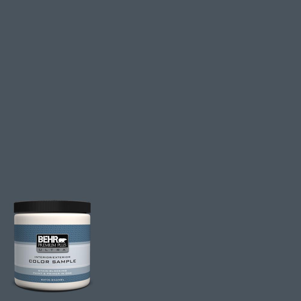 N480 7 Midnight Blue Satin Enamel Interior