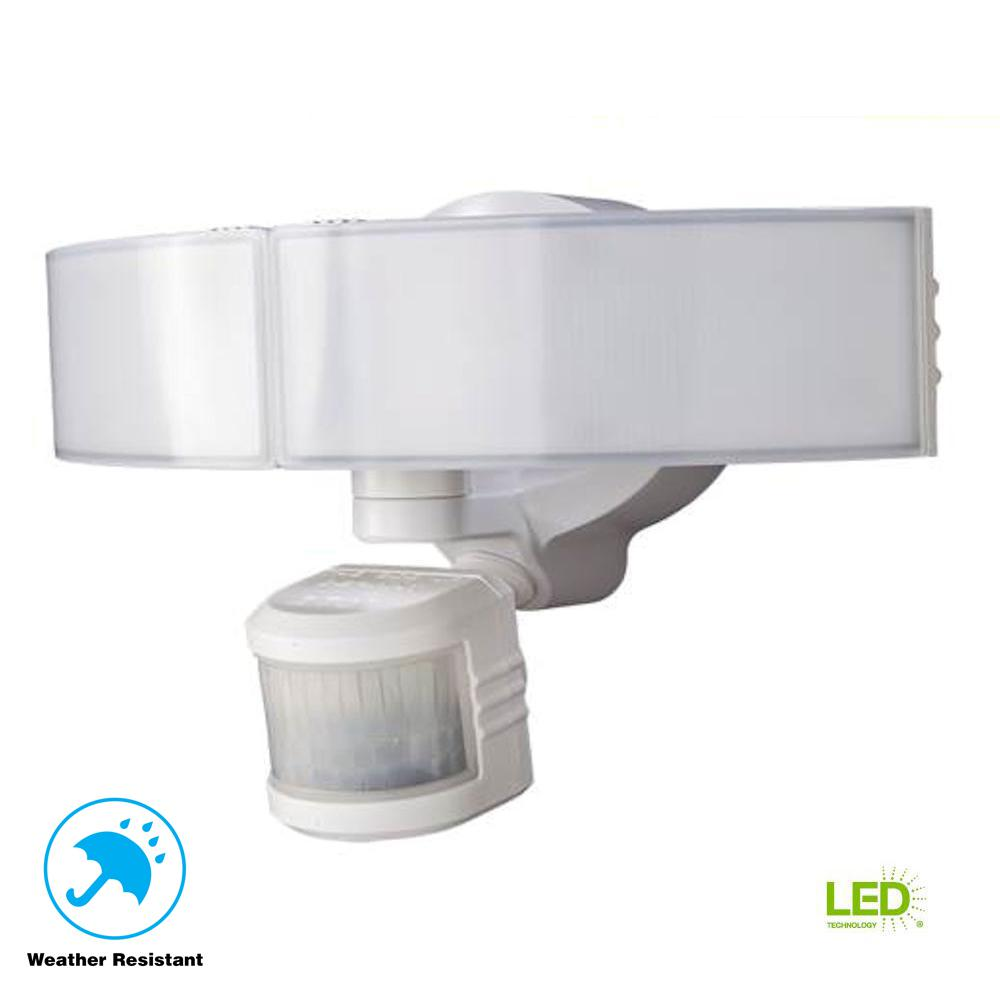 Defiant 270 Degree White LED Bluetooth Motion Outdoor Security Light ... b8af236b6ce1