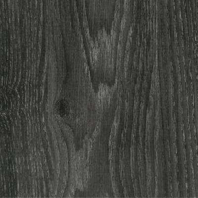Take Home Sample - Allure Ultra Aspen Oak Black Luxury Vinyl Flooring - 4 in. x 4 in.
