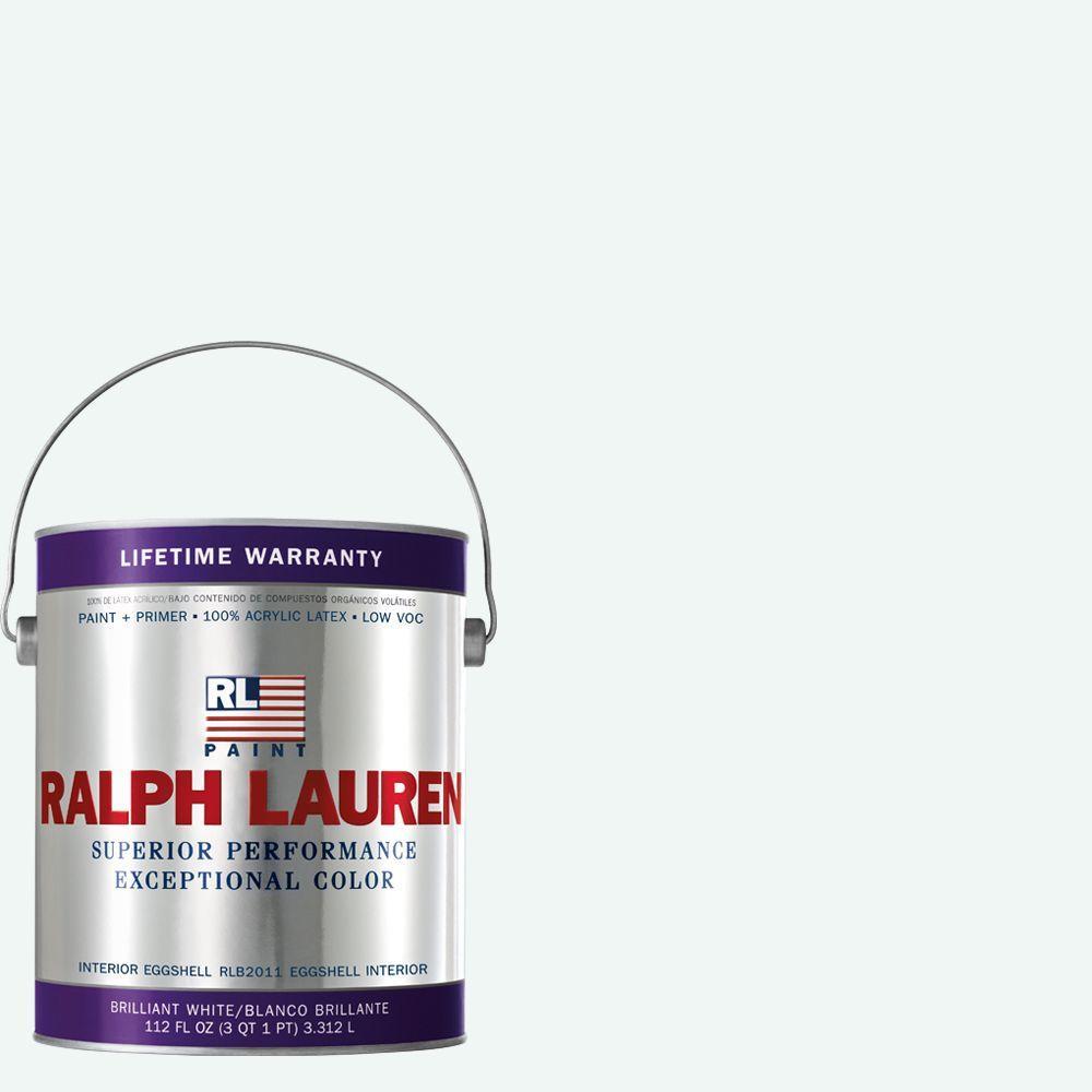 Ralph Lauren 1-gal. Brilliant White Eggshell Interior Paint