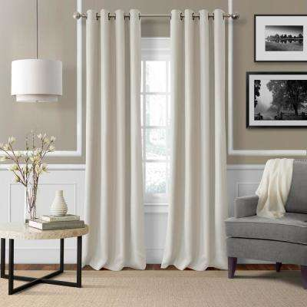Essex Solid Light Filtering Window Curtain