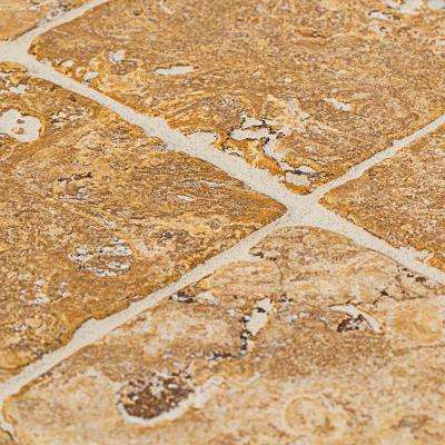 Travertino Gold 4 in. x 4 in. Travertine Floor and Wall Tile (9 pieces/pack)