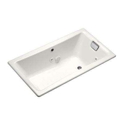 Tea-For-Two 5 ft. Whirlpool Tub with Reversible Drain in White