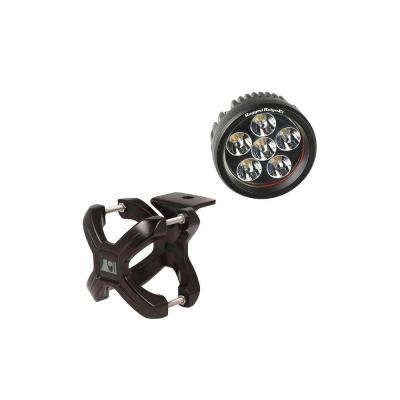 1.25 in. to 2 in. X-Clamp Light Mount and 3.5 in. Round LED Light Kit