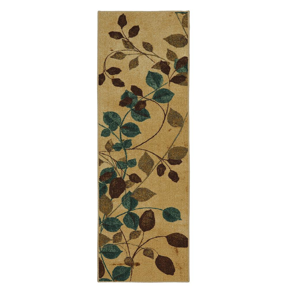 Mohawk Home Plum Vine Multi 2 Ft X 5 Runner Rug