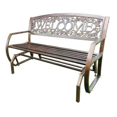 Bon Welcome Patio Double Glider