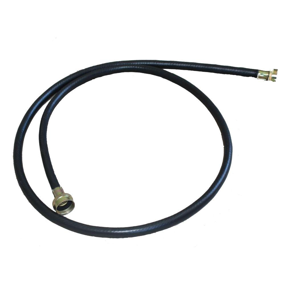 American Specialty 8 ft. Washing Machine Fill Hose Used for filling most washing machines with both hot and cold water, this 8 ft. Washing Machine Fill Hose is reinforced for high pressure use.