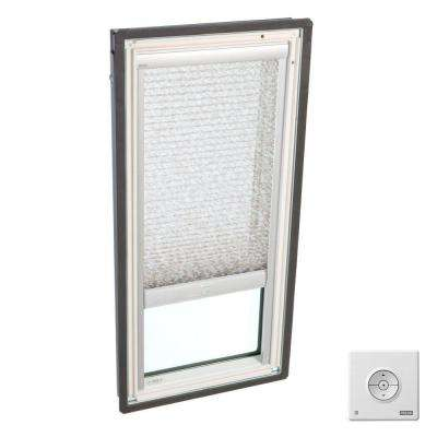 Solar Powered Light Filtering Misty Brown Skylight Blinds for FS S06 and FSR S06 Models